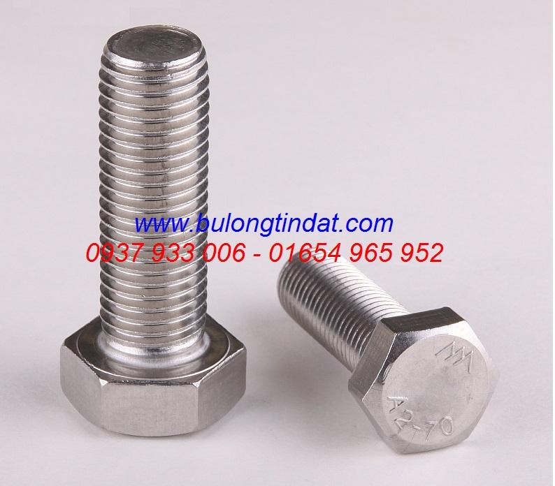 Bulong inox 304 / DIN933 / DIN931